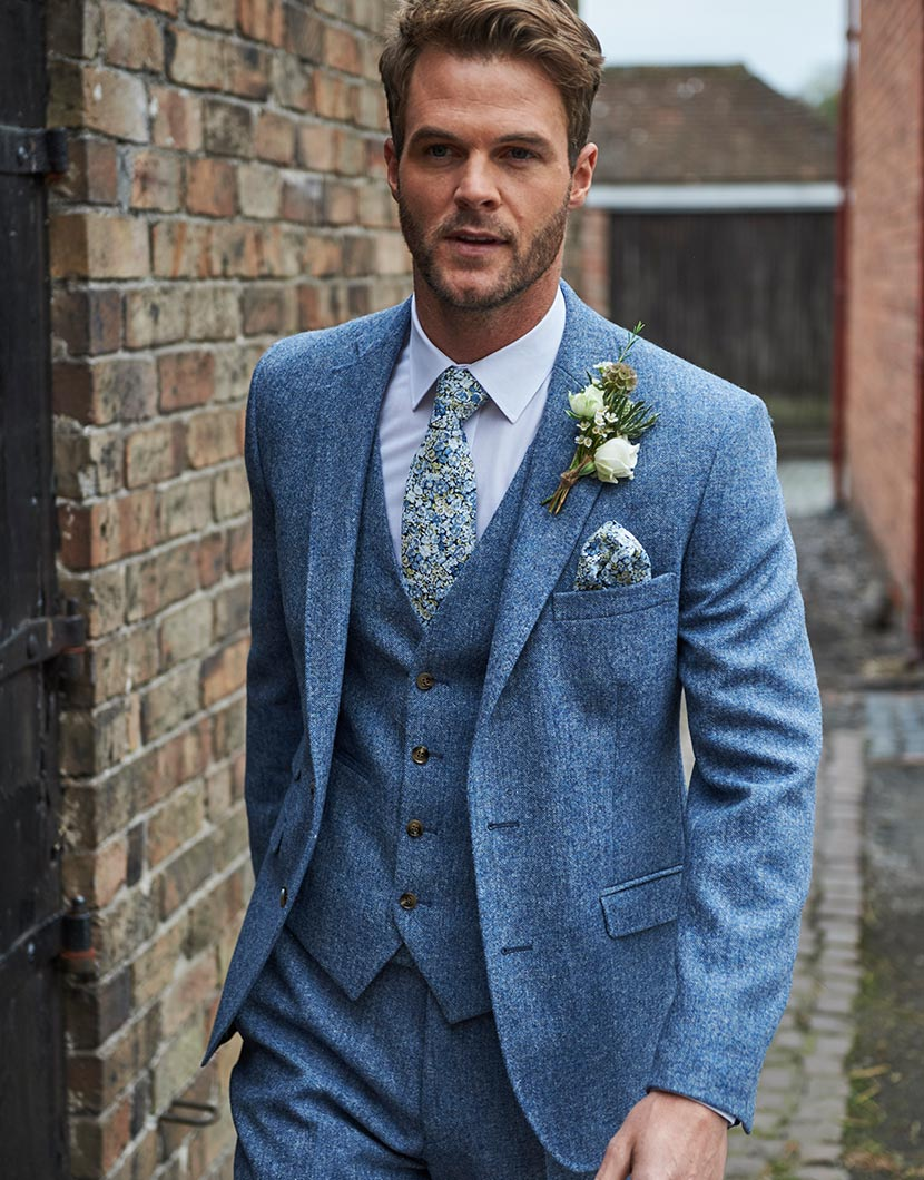 Tweed Suits Wedding Suits